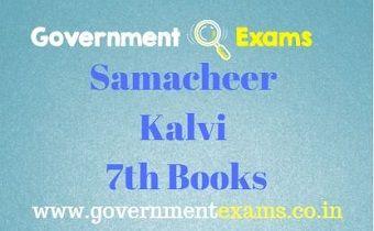 SamacheerKalvi 7th Books