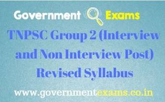 Group 2 Main Syllabus
