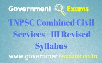 TNPSC Group 3 Syllabus