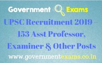 UPSC ORA Recruitment 2019