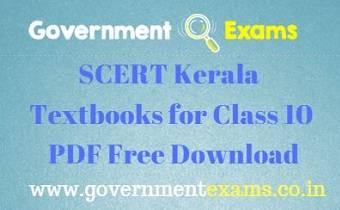 SCERT Kerala Textbooks for Class 10