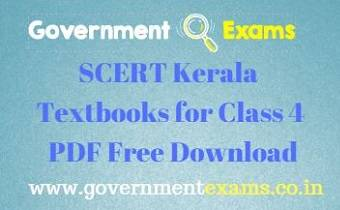 SCERT Kerala Textbooks for Class 4