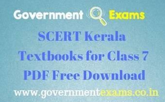 SCERT Kerala Textbooks for Class 7