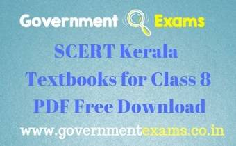 SCERT Kerala Textbooks for Class 8 PDF Download - Government Exams