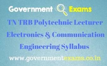 TN TRB ECE Syllabus