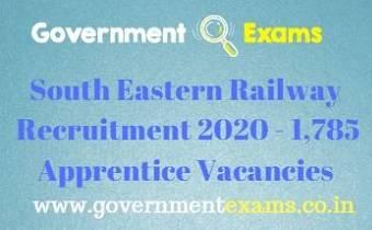 SER Apprentice Recruitment 2020