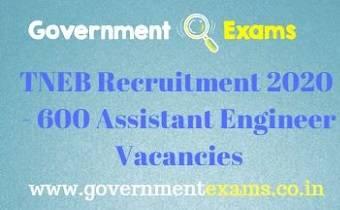 TNEB AE Recruitment 2020