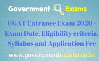UGAT Entrance Exam 2020