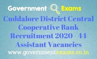 CUDDRB Recruitment 2020