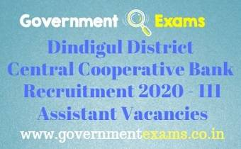 Dindigul District Recruitment Bureau Recruitment 2020