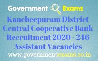 Kancheepuram District Recruitment Bureau Recruitment 2020