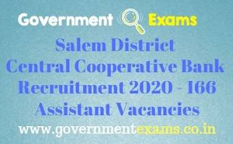 Salem District Recruitment Bureau Recruitment 2020