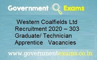 Western Coalfields Ltd Recruitment 2020