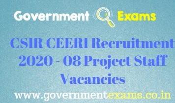 CEERI Recruitment 2020