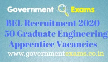 BEL Graduate Engineering Apprentice Recruitment 2020