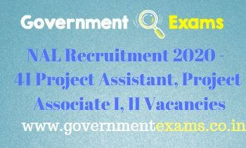 NAL Project Assistant and Associate Recruitment 2020