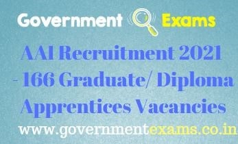 AAI Graduate Diploma Apprentices Recruitment 2021