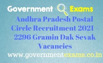 Andhra Pradesh Postal Circle GDS Recruitment 2021