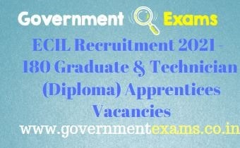 ECIL Graduate Diploma Apprentices Recruitment 2021
