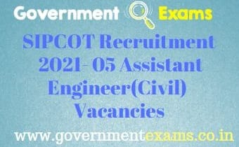 TN SIPCOT Recruitment 2021