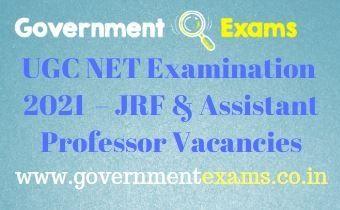UGC NET Examination 2021
