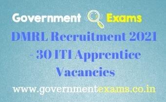 DRDO DMRL Apprentice Recruitment 2021