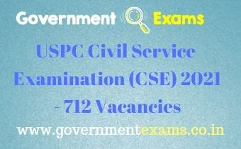 UPSC Civil Service Examination 2021
