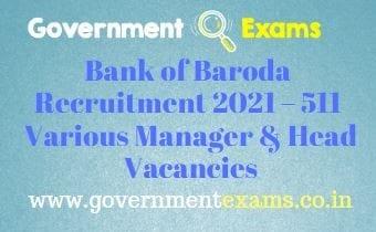 BOB Wealth Management Professionals Recruitment 2021