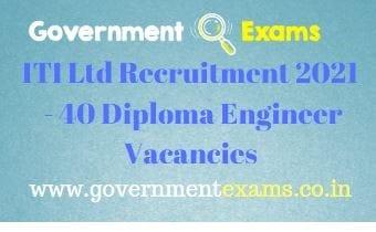 ITI Limited Raebareli Recruitment 2021